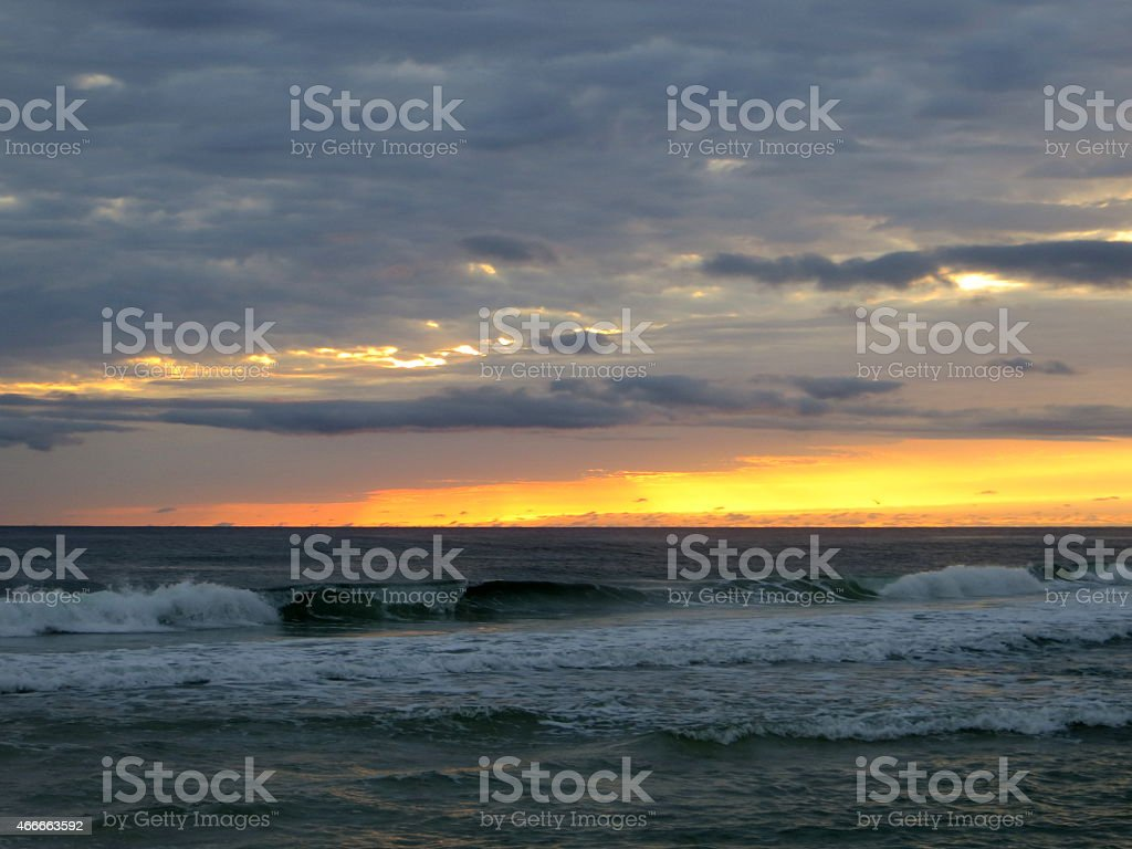 Sunset 04 Mar 5 2015 stock photo