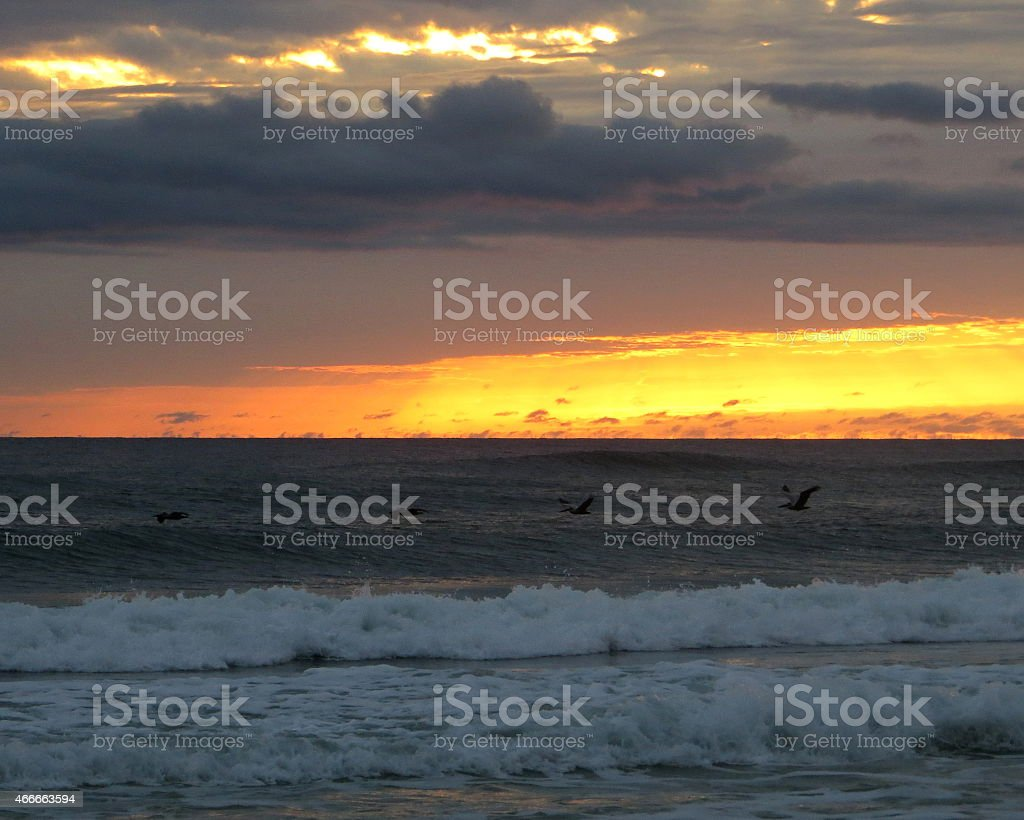 Sunset 05 Mar 5 2015 stock photo
