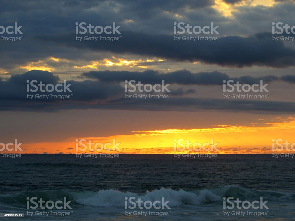 Sunset 07 Mar 5 2015 stock photo