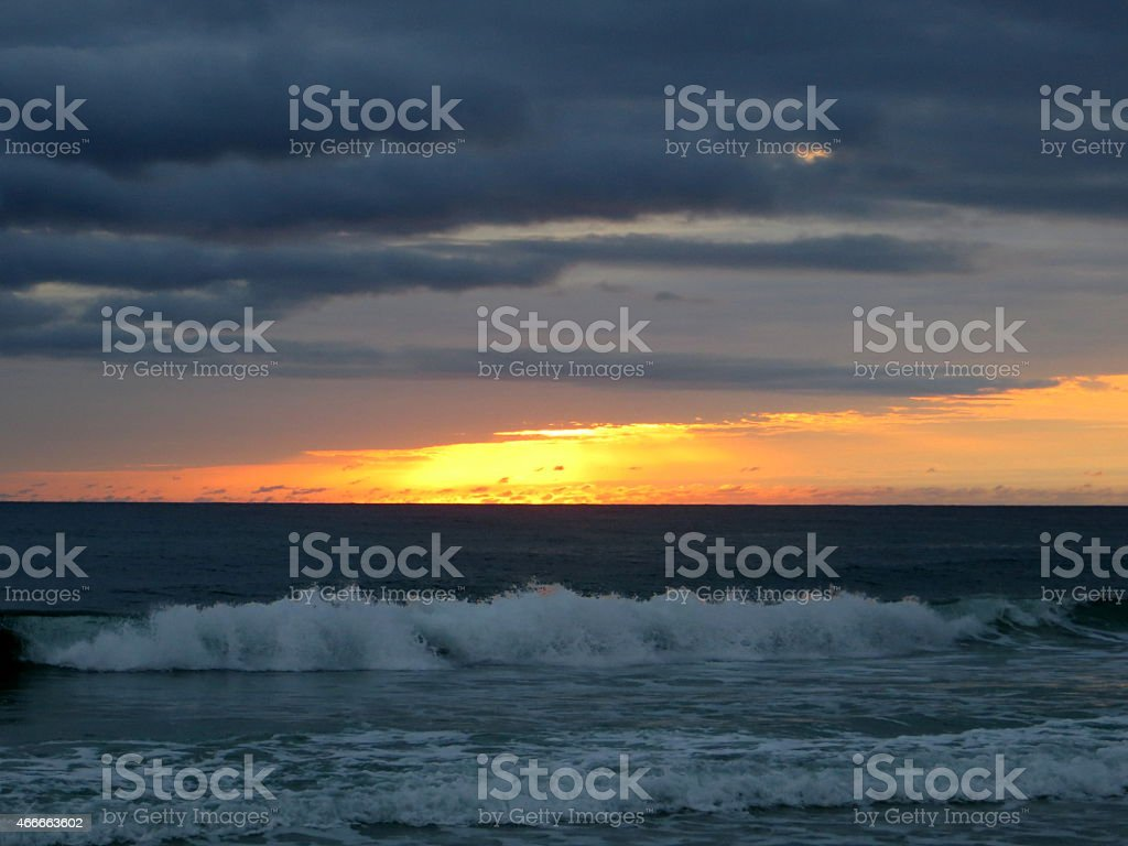 Sunset 09 Mar 5 2015 stock photo