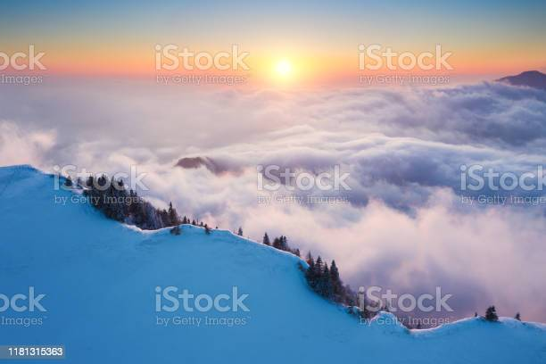 Photo of Sunset Above The Mountain