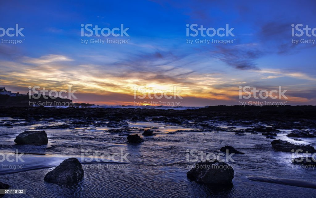 Sunset and after.. 免版稅 stock photo