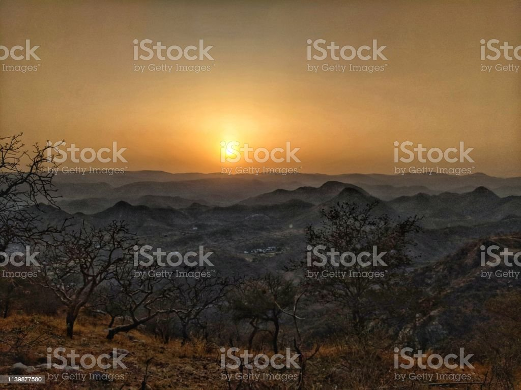 Sunset aren't Same I would say. stock photo