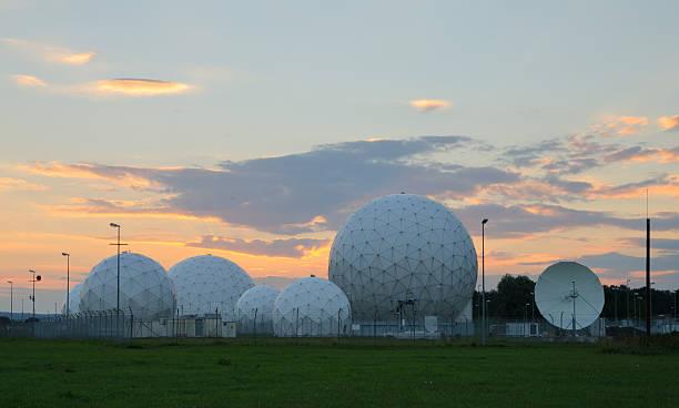 Sonnenuntergang im Bad Aibling Station – Foto