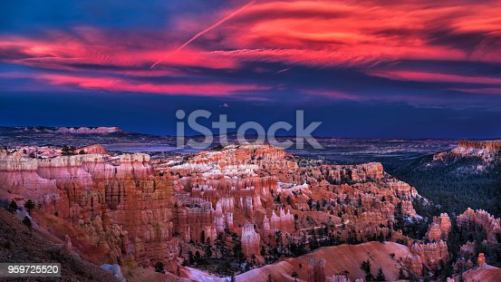 istock Sunset at Bryce Canyon National Park 959725520