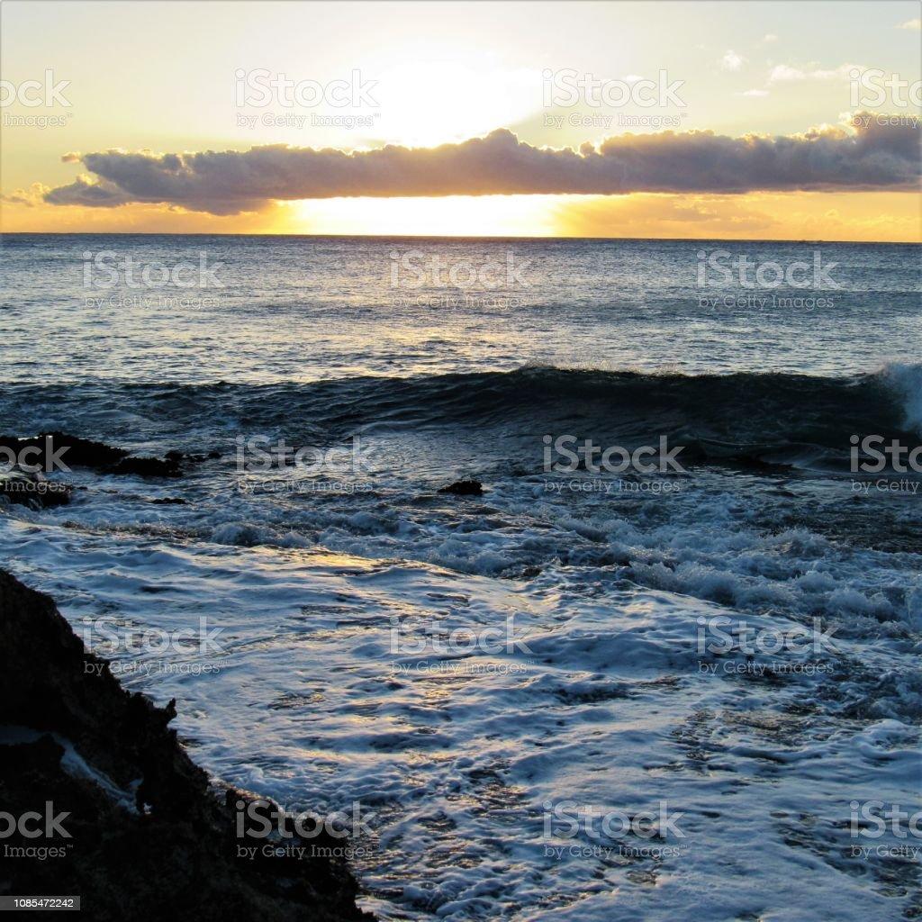Sunset At Koolina 12 20 2018 Kapolei Oahu Hawaii Stock Photo