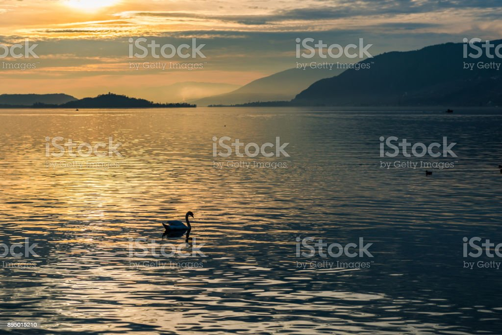 Sonnenuntergang am See – Foto
