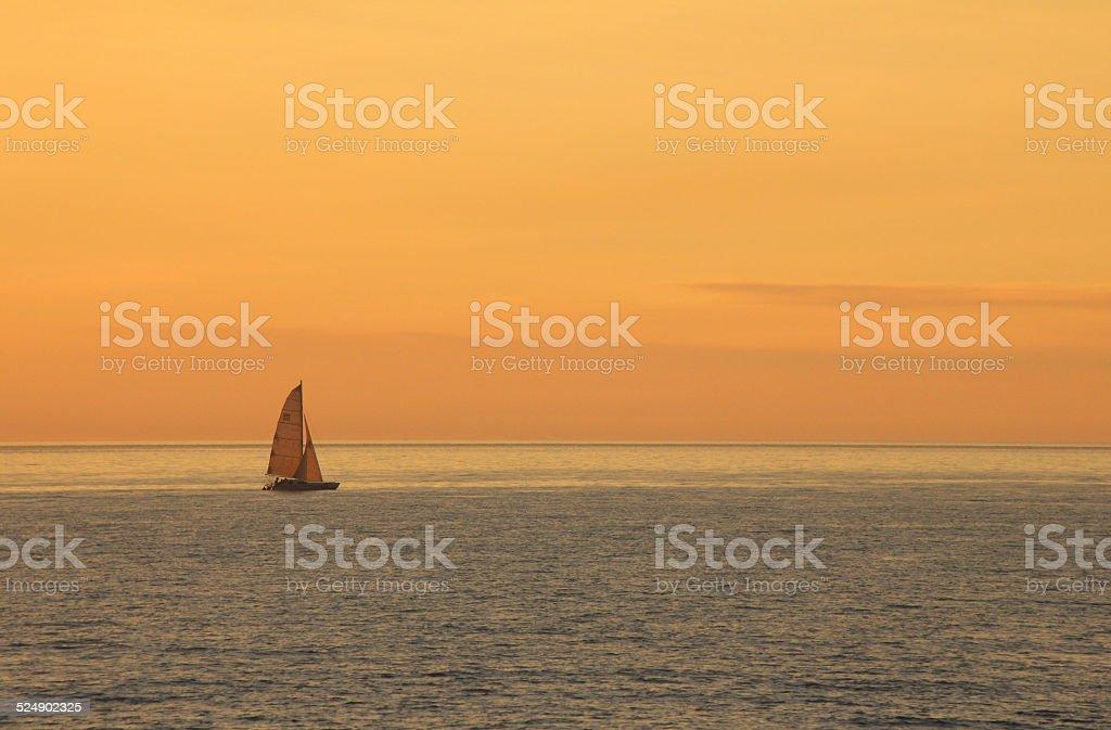 Sunset at Mindil beach stock photo