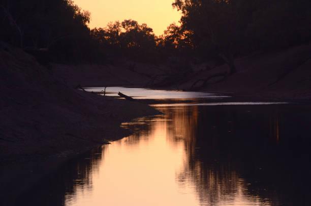 Sunset at Outback Australia_0049_jpg stock photo