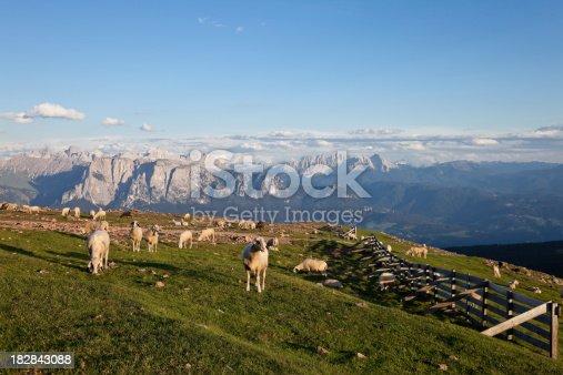 istock Sunset at Rittner Horn, South Tyrol 182843088