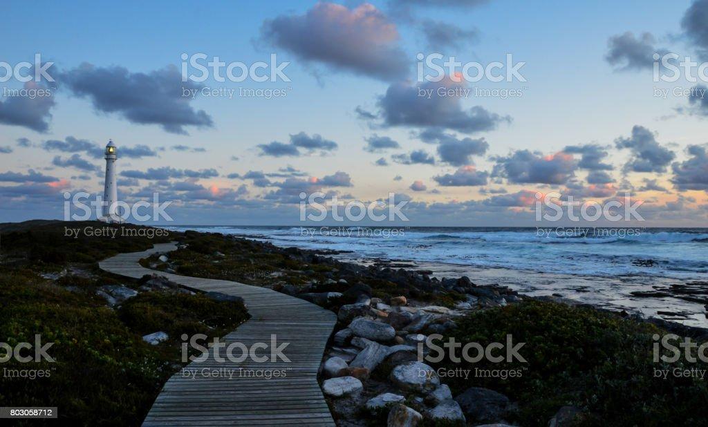 Sunset At Slangkop stock photo