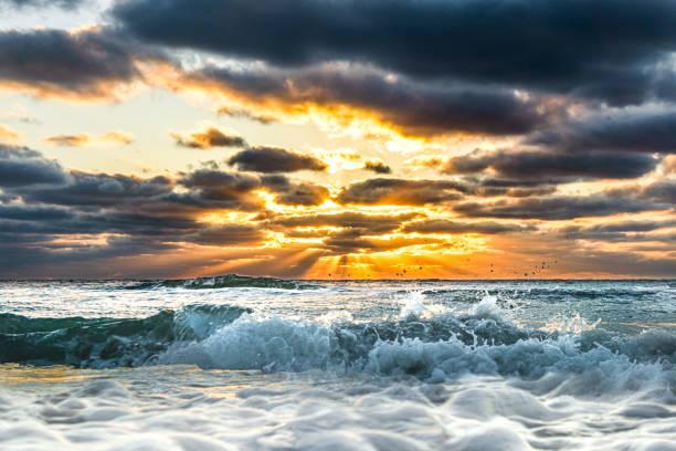 Sonnenuntergang in tampa bay,Florida – Foto