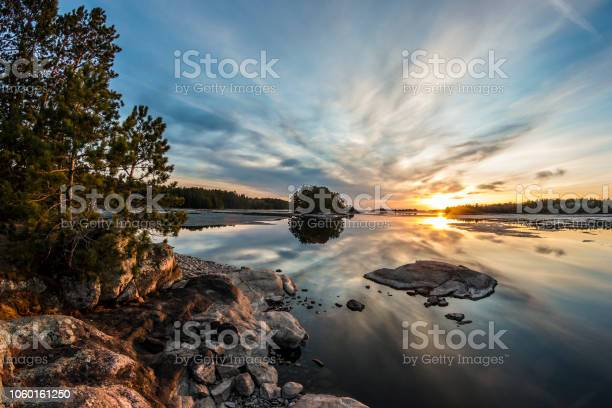 Photo of Sunset at Voyageurs National Park
