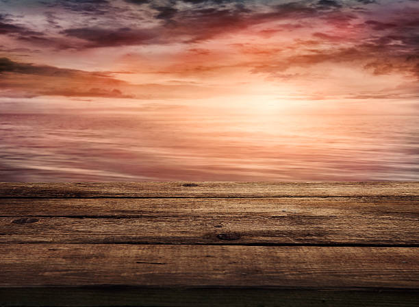 Coucher de soleil en arrière-plan - Photo