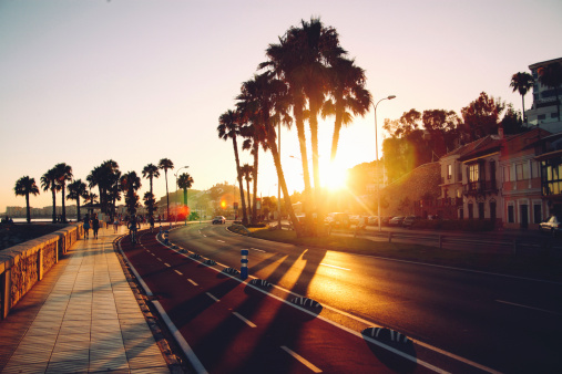 sunset beach drive