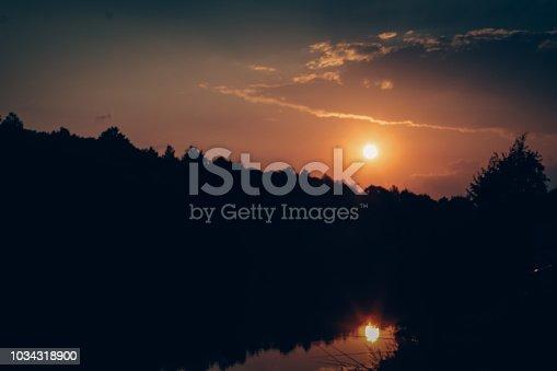 832047798istockphoto Sunset Beach Path Panoramic Background 1034318900