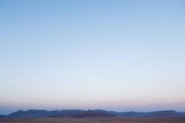 Sonnenuntergang hinter den Naukluft Bergen – Foto