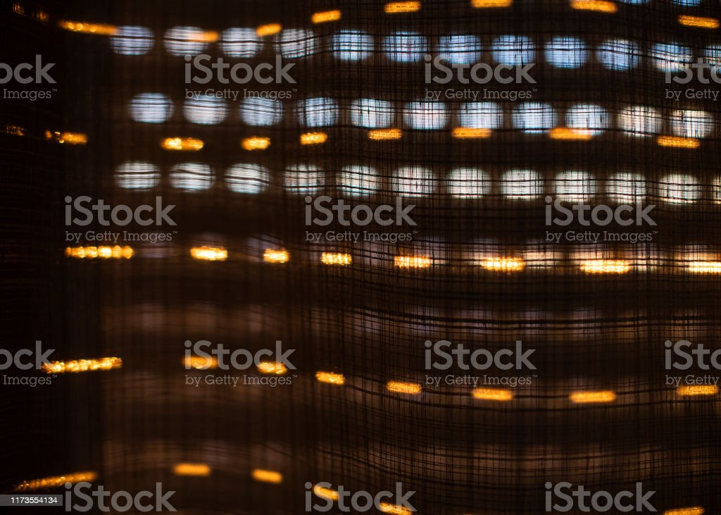 Sunset Behind The Window Blinds And Curtains Sun Shadow Background Stock Photo Download Image Now Istock