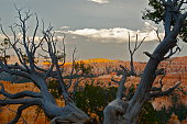 sunset in bryce canyon national park