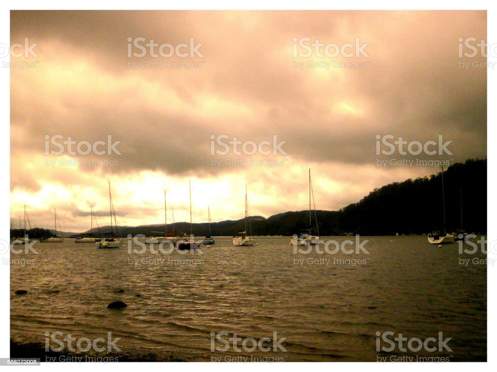 sunset by the sea foto stock royalty-free