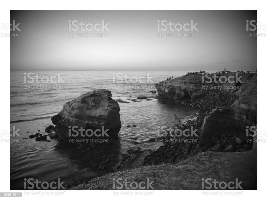 Sunset Cliffs royalty-free 스톡 사진
