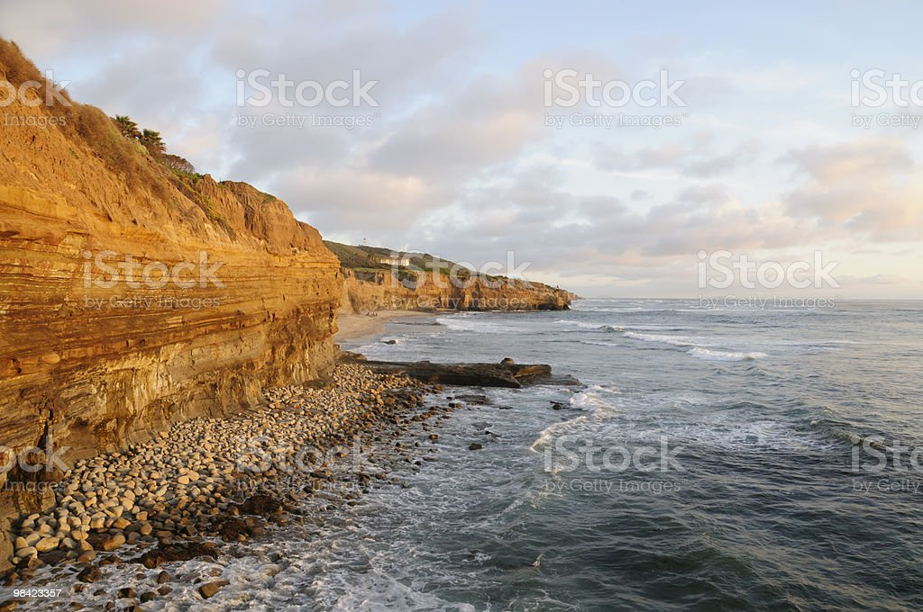 Sunset Cliffs royalty-free stock photo