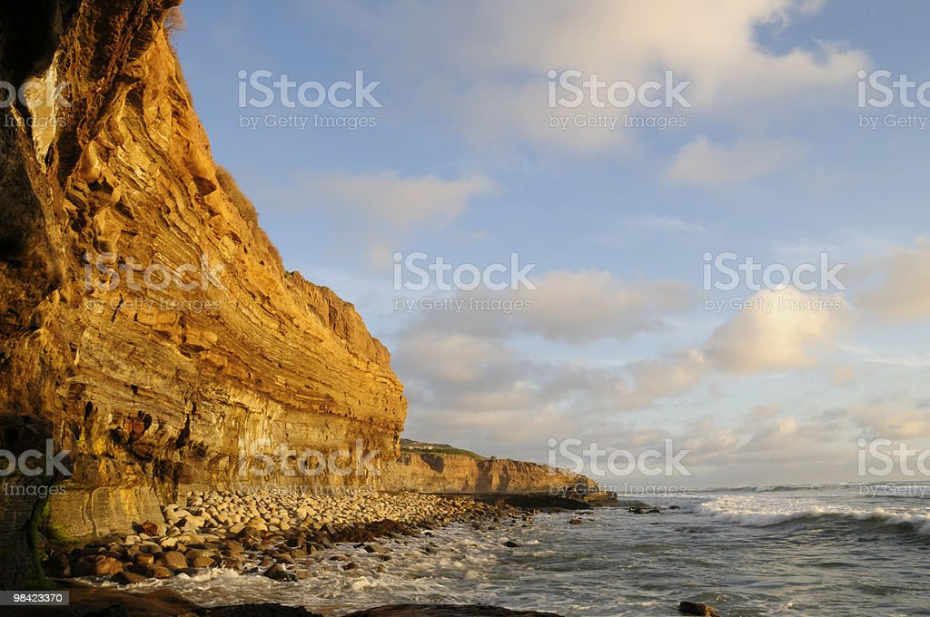 Sunset Cliffs royalty-free stock photo