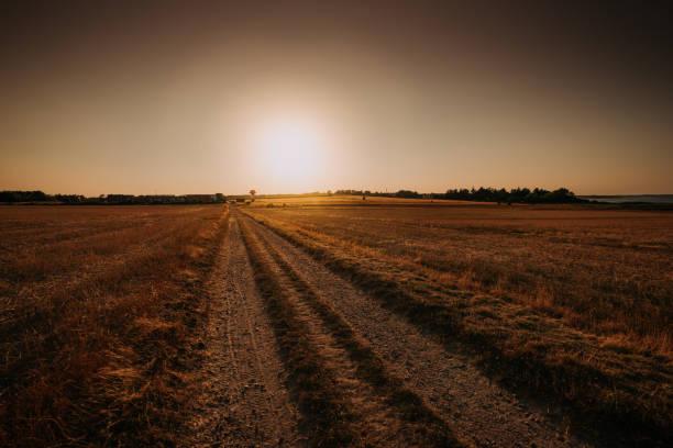 Sonnenuntergang Küstenlandschaft – Foto