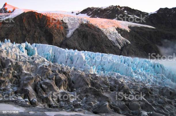 Photo of Sunset Colors Hit the Fox Glacier in New Zealand
