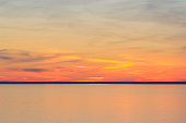istock Sunset Colors Reflect in Lake Superior 1321208048