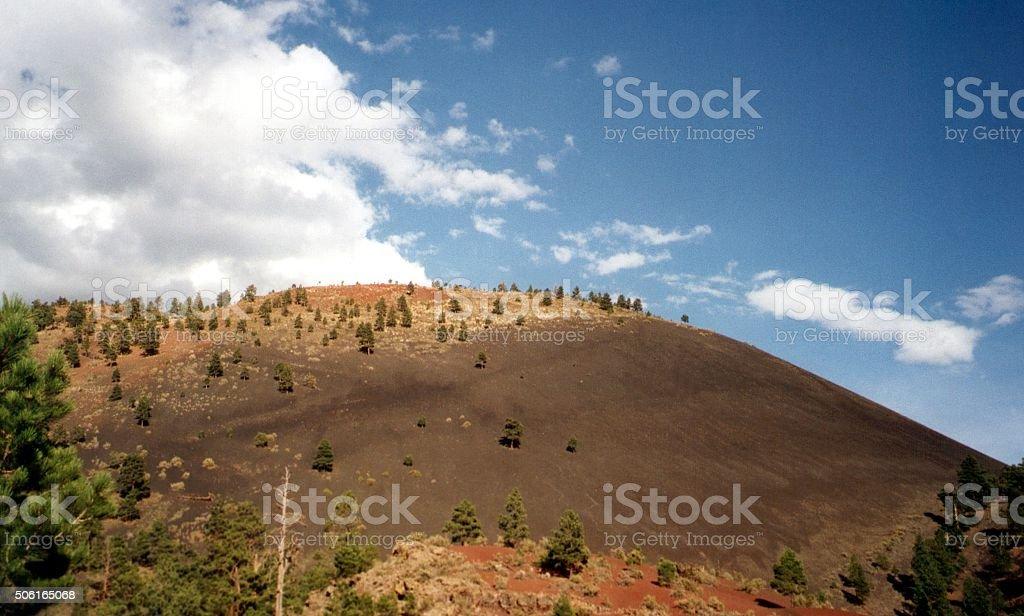 Sunset Crater Volcano, Arizona stock photo