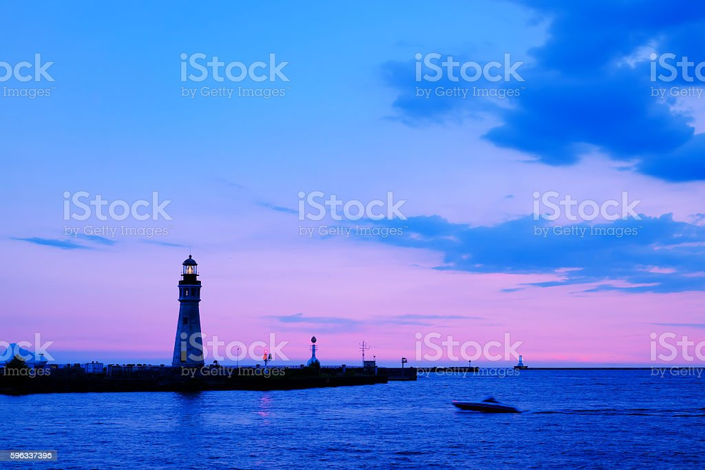 Sunset cruise royalty-free stock photo