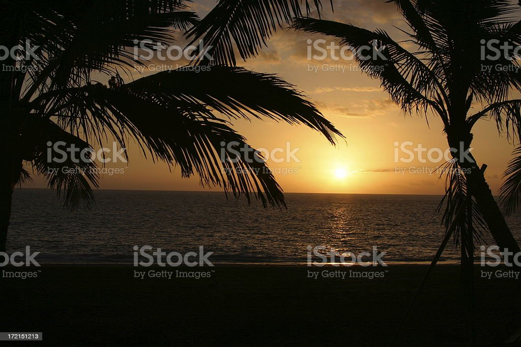 sunset dream royalty-free stock photo