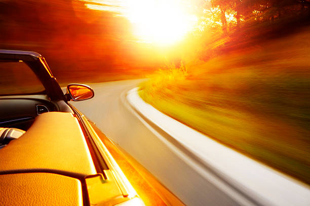 Sunset drive – Foto