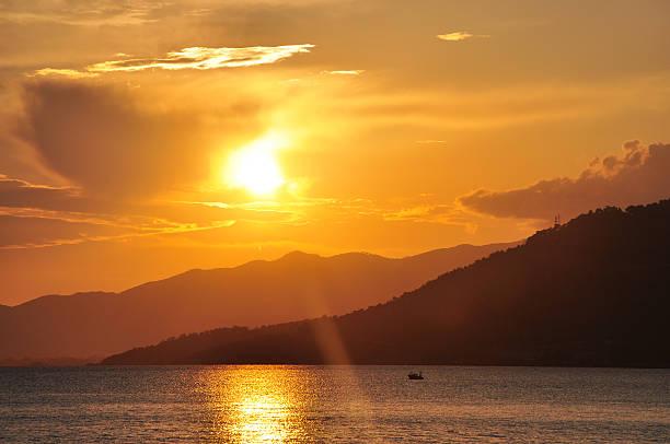 Sonnenuntergang von Mersin – Foto