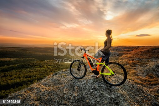 istock Sunset from the top 612659348