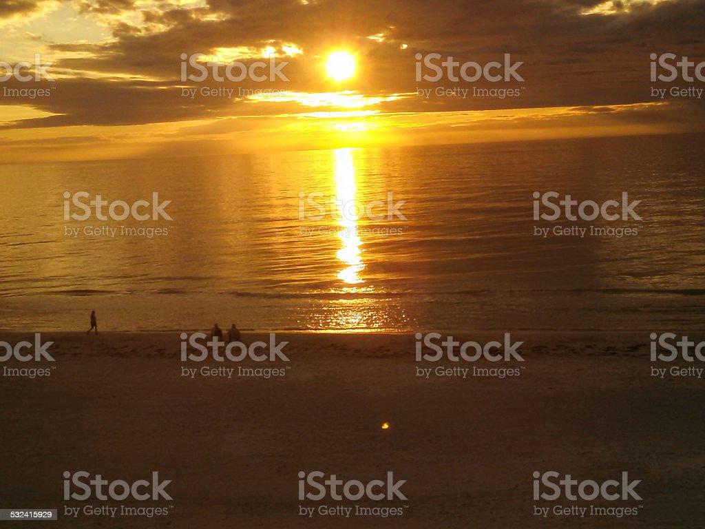 Tampa Beaches Sunset