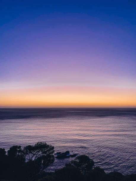 Sonnenuntergang in Kapstadt bei Clifton, Südafrika – Foto