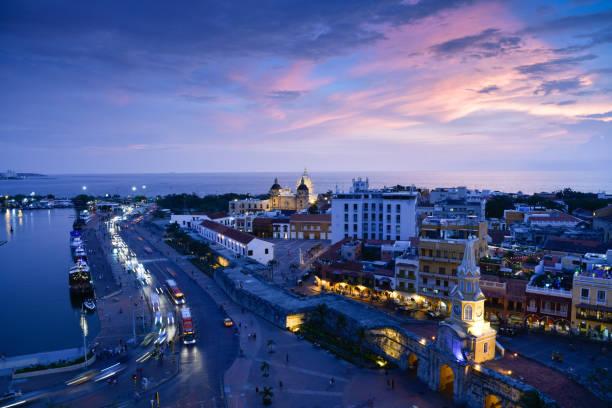 Sonnenuntergang in Cartagena. Kolumbien – Foto