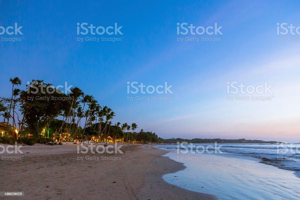Sonnenuntergang in Costa Rica – Foto