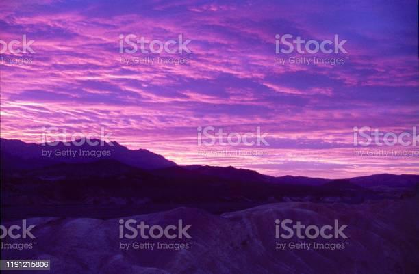Sunset in Death Valley, Nevada
