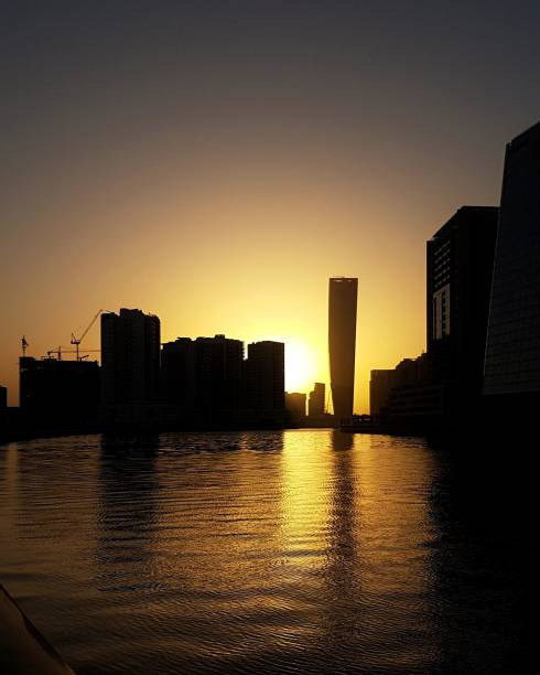 Sonnenuntergang in Dubai – Foto