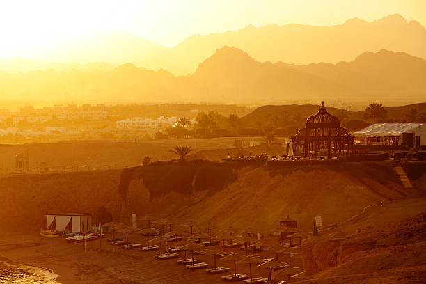 Sonnenuntergang in Ägypten – Foto