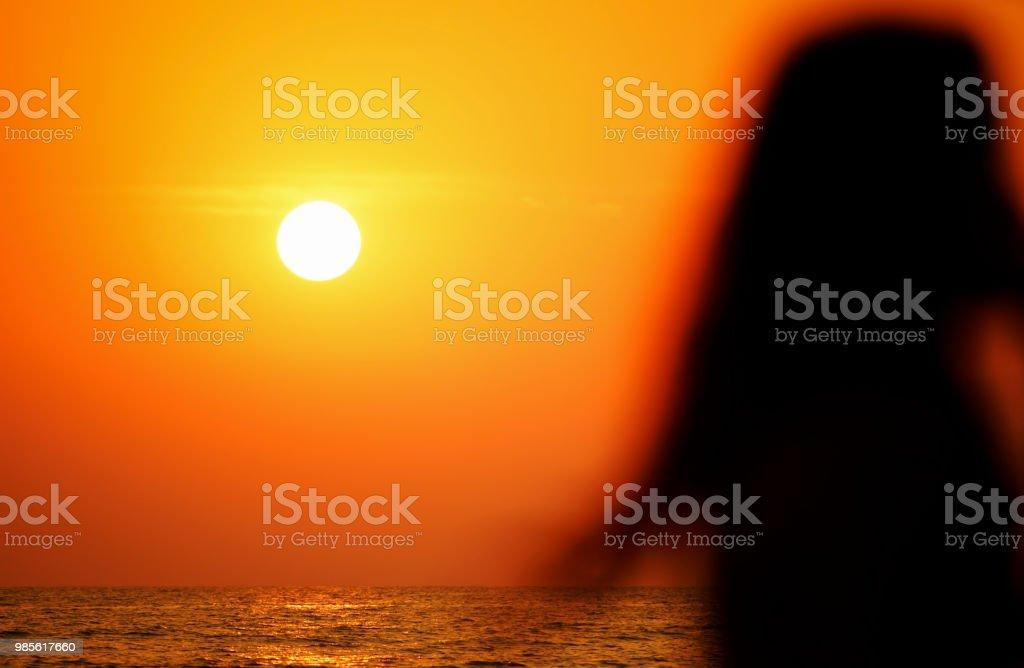 Sonnenuntergang in Goa – Foto