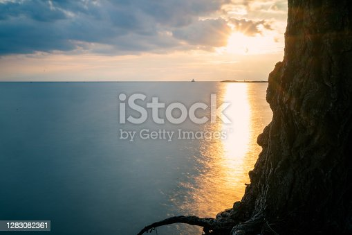 istock Sunset in Goderich 1283082361