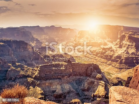 Sunset in Grand Canyon - USA
