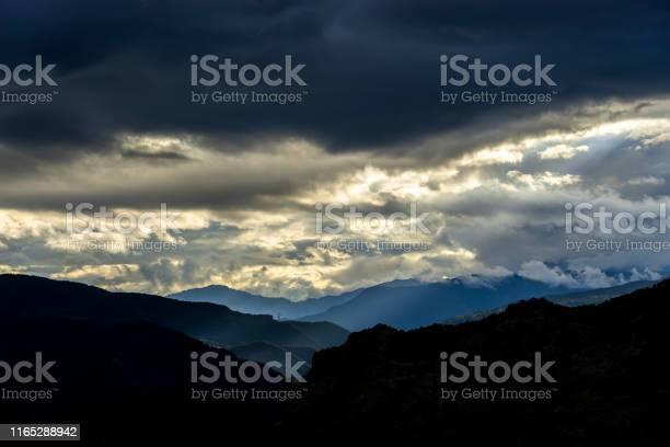 Photo of Sunset in mountains. Summer scenery. Black sea, Artvin  - Turkey