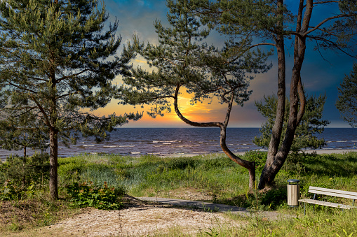 Sunset in my Jurmala Latvia