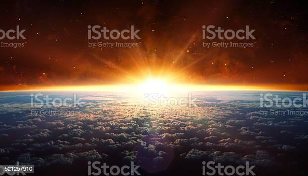 Photo of Sunset In Orbit