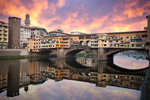 Sunset in Ponte Vecchio